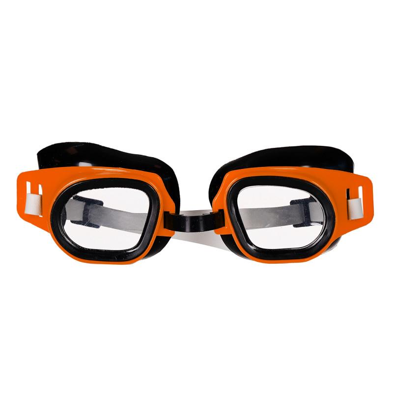 Ρυθμιζόμενα γυαλιά κολύμβησης, πορτοκαλί  116162