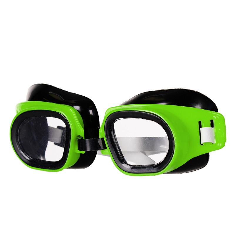 Ρυθμιζόμενα γυαλιά κολύμβησης, πράσινο  116163