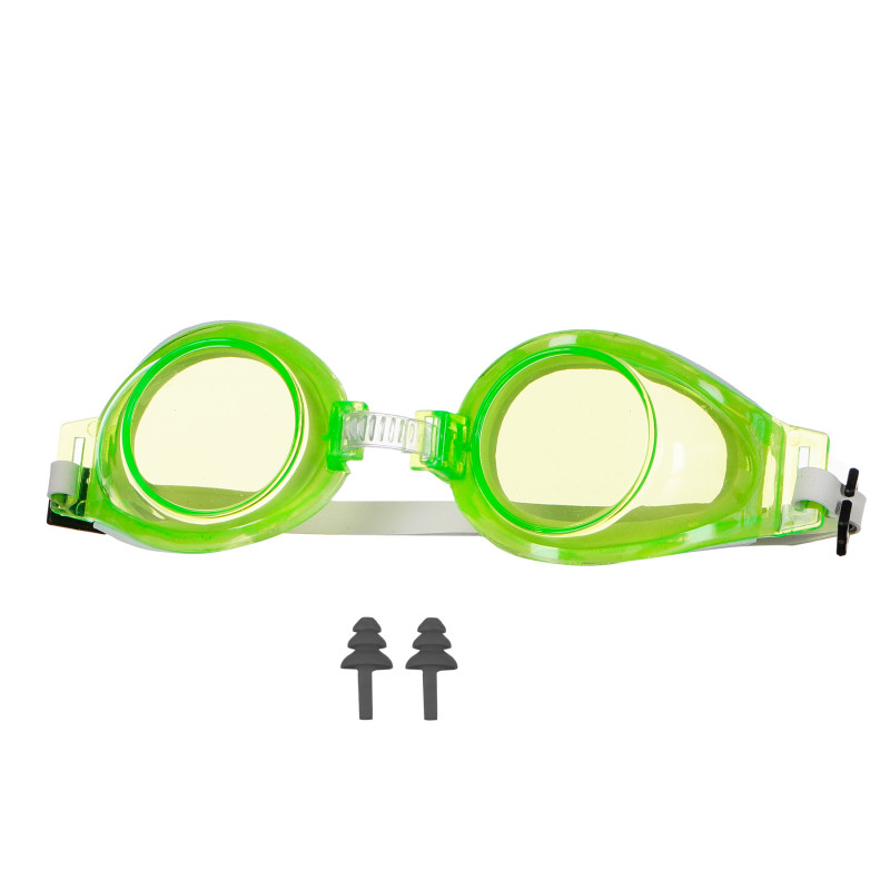 Γυαλιά κολύμβησης, 5+ ετών, πράσινο  116181