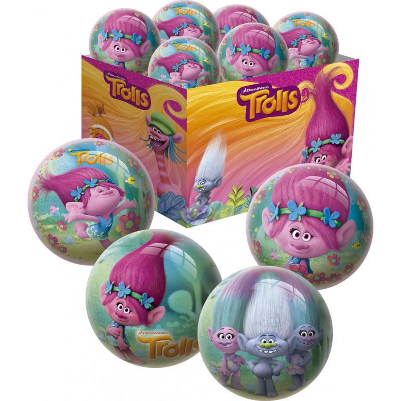 Πολύχρωμη μπάλα για κορίτσι - Τρολ  1174