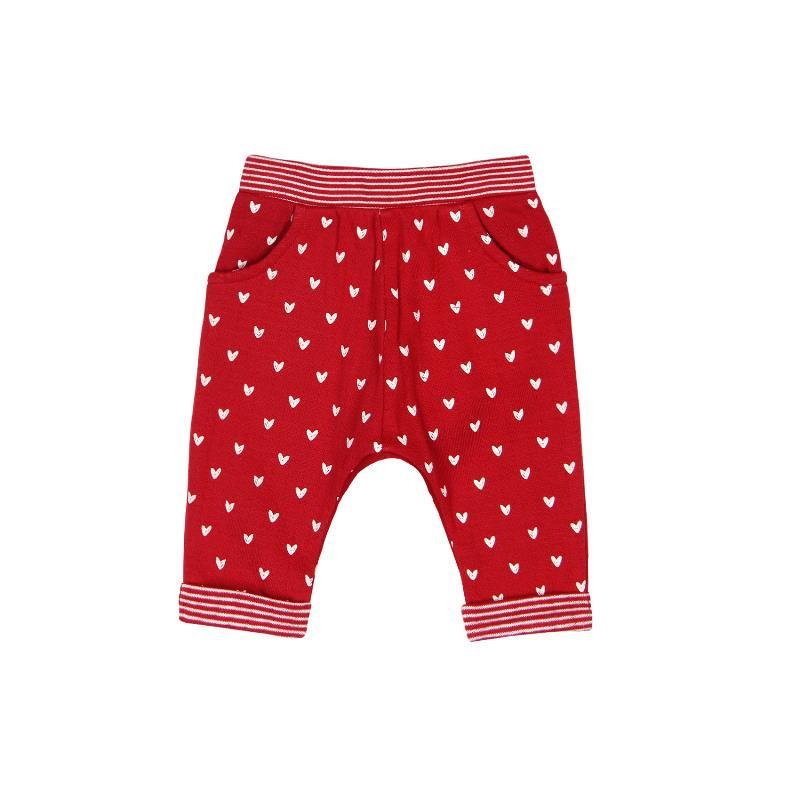 Παντελόνι για μωρό Boboli με στάμπα καρδιές  118