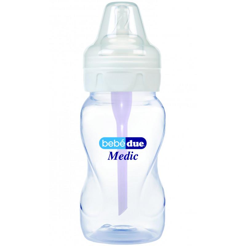 Μπουκάλι τροφοδοσίας από πολυπροπυλένιο με 1 σταγόνα, 0+ μήνες, 260 ml.  1222