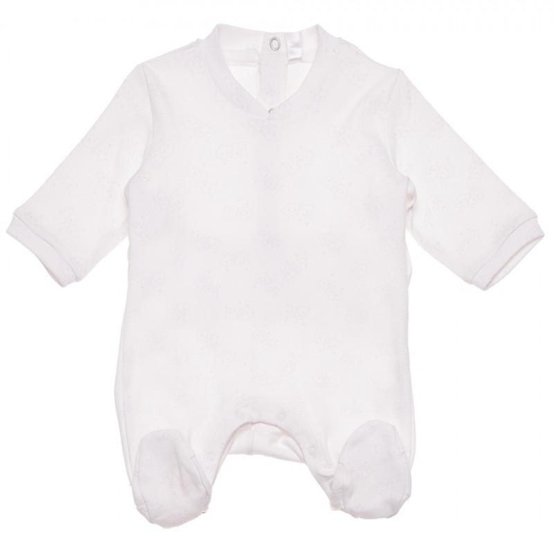 Λευκό, βαμβακερό φορμάκι, για κορίτσι  123237