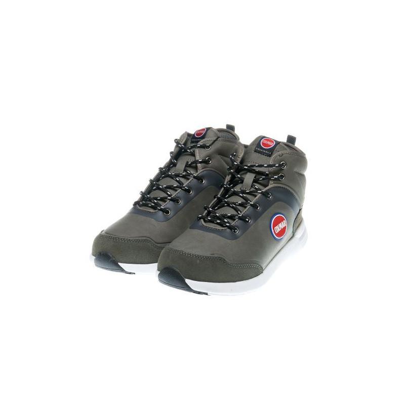 Αθλητικές μπότες για αγόρια με αναπνεύσιμα υφάσματα, σε γκρι χρώμα  12403