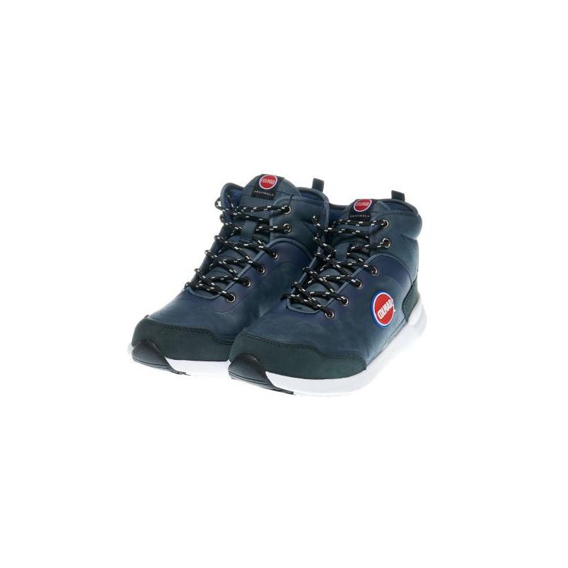 Αθλητικές μπότες για αγόρια σε αναπνεύσιμα υφάσματα, μπλε  12411