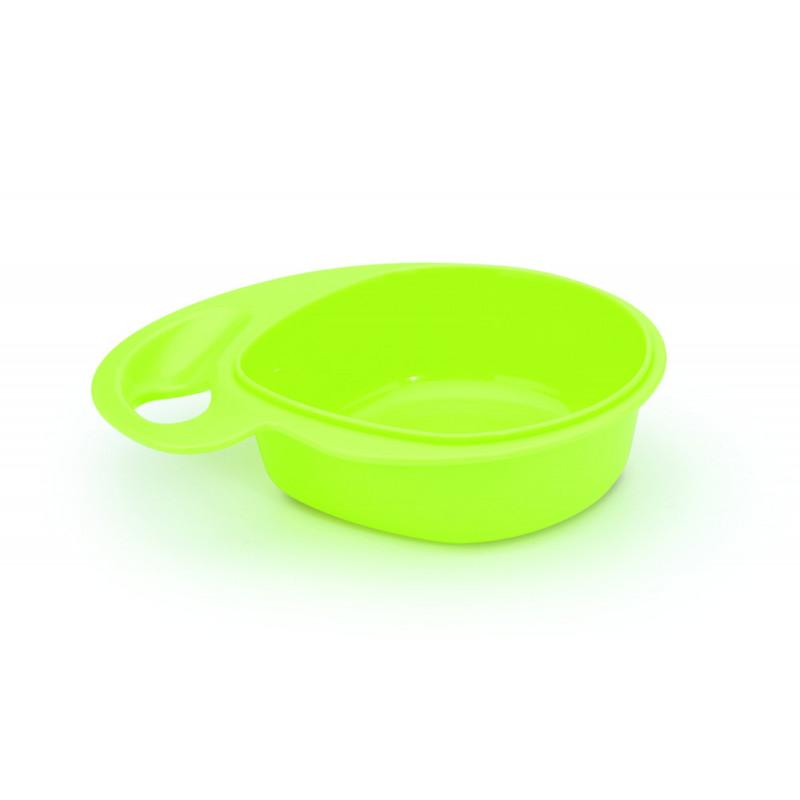Σετ 3 τεμαχίων εργονομικών μπολ τροφίμων - 300 ml πλαστικό  1255