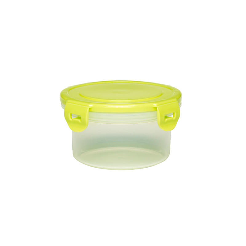 Κουτί αποθήκευσης τροφίμων με κίτρινο καπάκι, 400 ml, πλαστικό 400 ml  1266