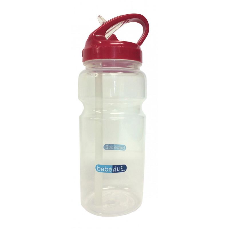 Μπουκάλι πολυπροπυλενίου για υγρά, με πιπίλα, 6+μηνών, 500 ml  1267