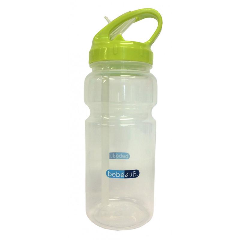Μπουκάλι πολυπροπυλενίου για υγρά, με πιπίλα, 6+ μηνών, 500 ml.  1269