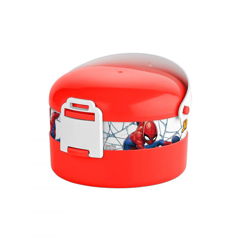 Διακοσμητικό κουτί τροφίμων, πλαστικό 1 l, Spiderman  128410