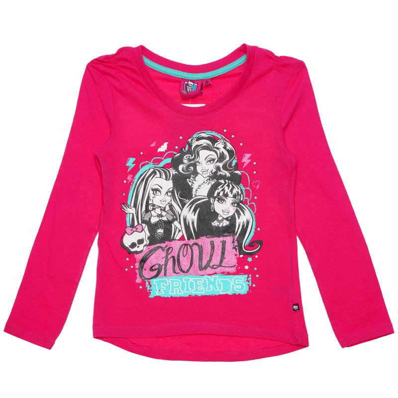 Γυναικεία μπλούζα Monster High Pink Cotton  143968