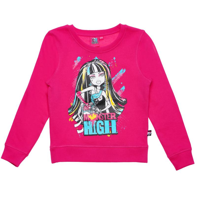 Μπλούζα για ένα κορίτσι, ροζ  143982
