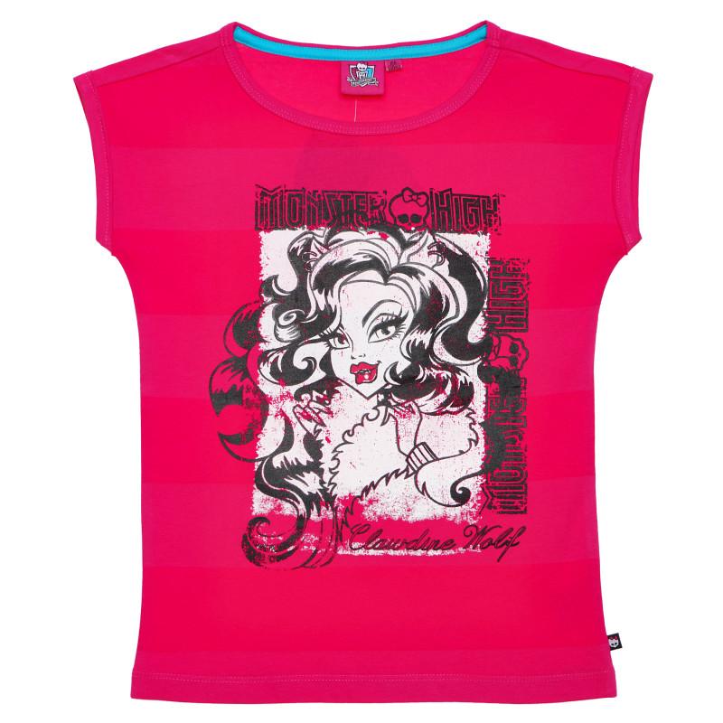 Μπλουζάκι από ροζ ροζ κορίτσια  144091