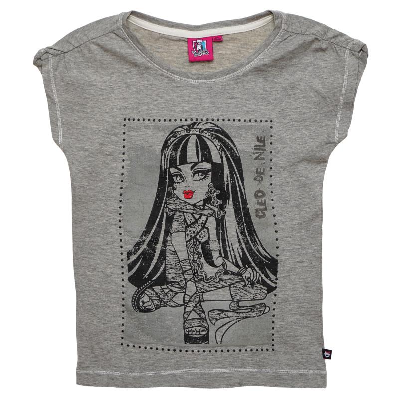 Μπλουζάκι Girls Monster High print Βαμβάκι  144136