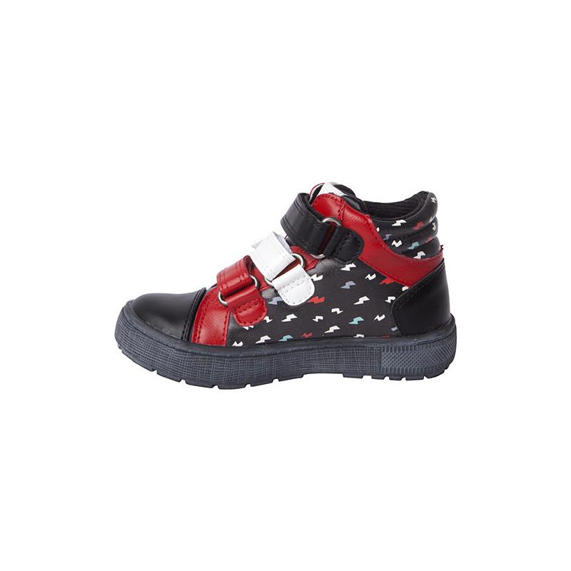 Παπούτσια για αγόρια με έγχρωμη διακόσμηση κεραυνού  1700