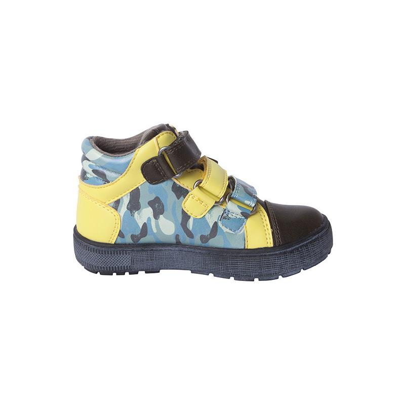 Παπούτσια με κίτρινες πινελιές για αγόρια  1719