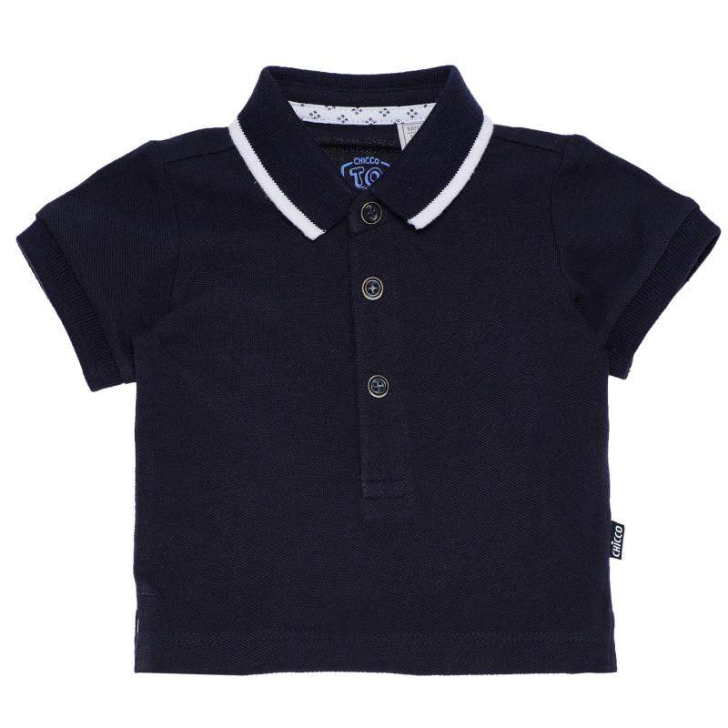 Βαμβακερή βρεφική μπλούζα , λευκή  180926