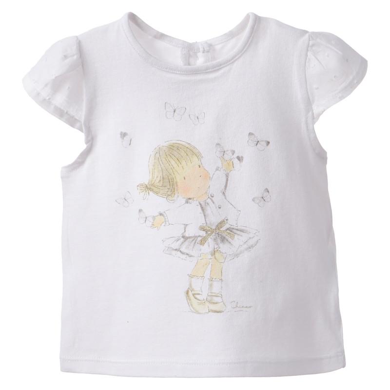 Μπλούζα μωρού, σε λευκό  181227