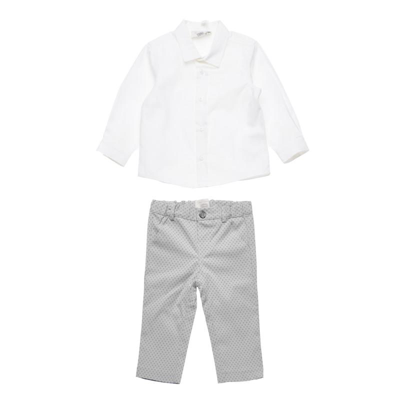 Σετ μωρού με πουκάμισο και παντελόνι  181251