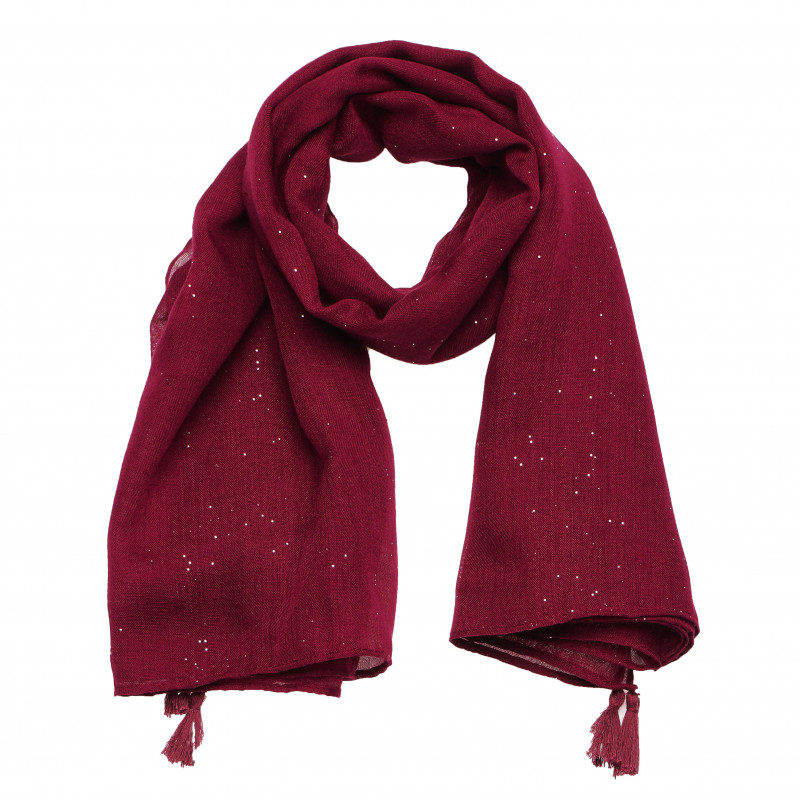Κόκκινο κασκόλ, σε κόκκινο χρώμα  182775