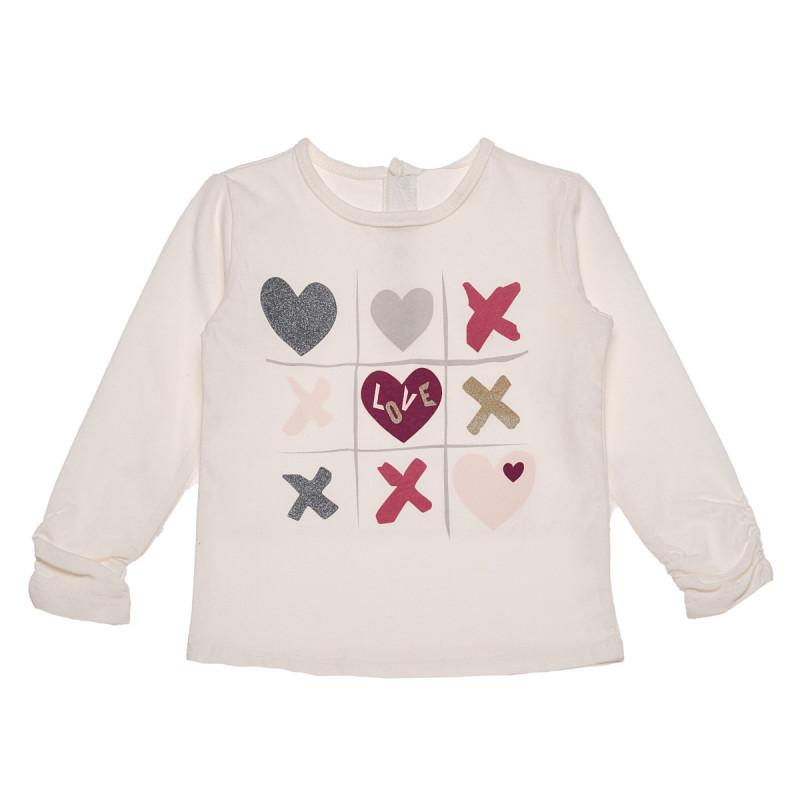 Βαμβακερή μπλούζα, χαριτωμένο σχέδιο για μωρά  183528
