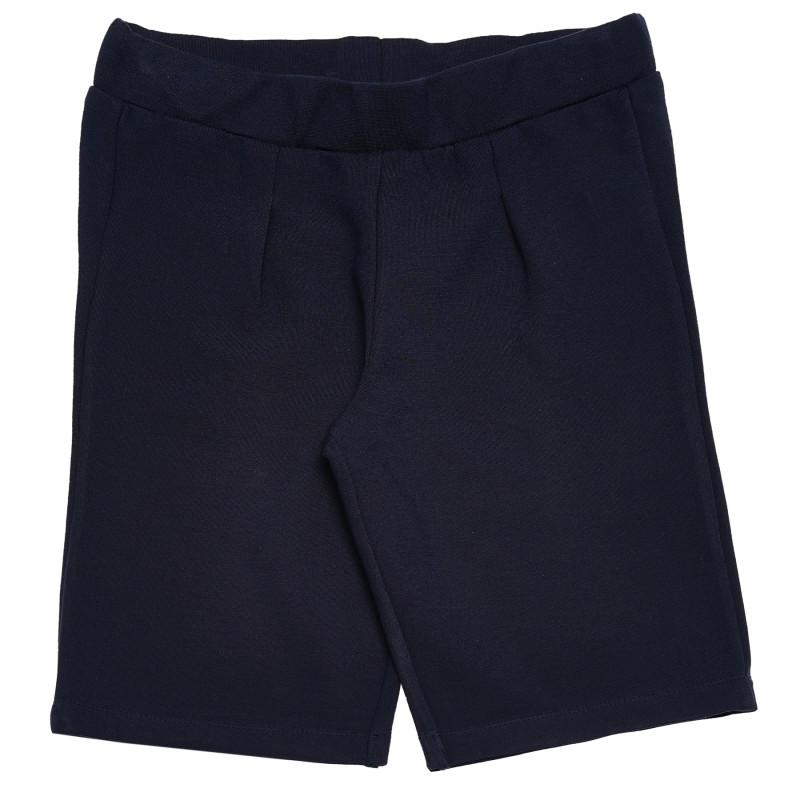 Παντελόνι κοντό για κορίτσια, μπλε  183778