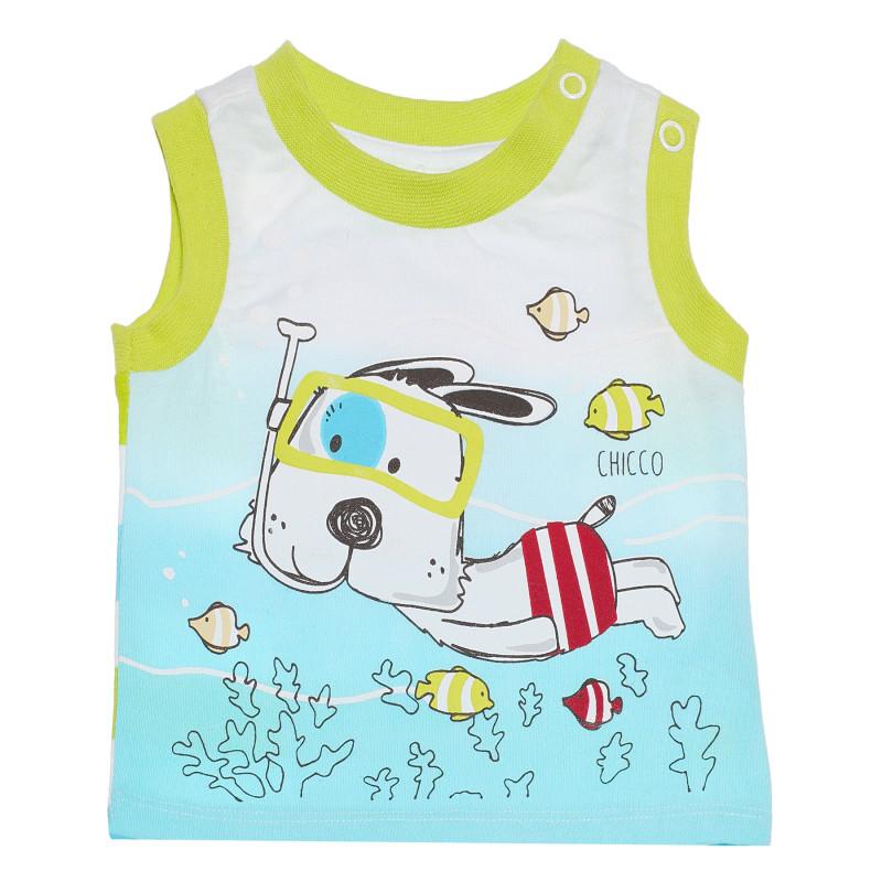 Βαμβακερή μπλούζα για μωρό  185039