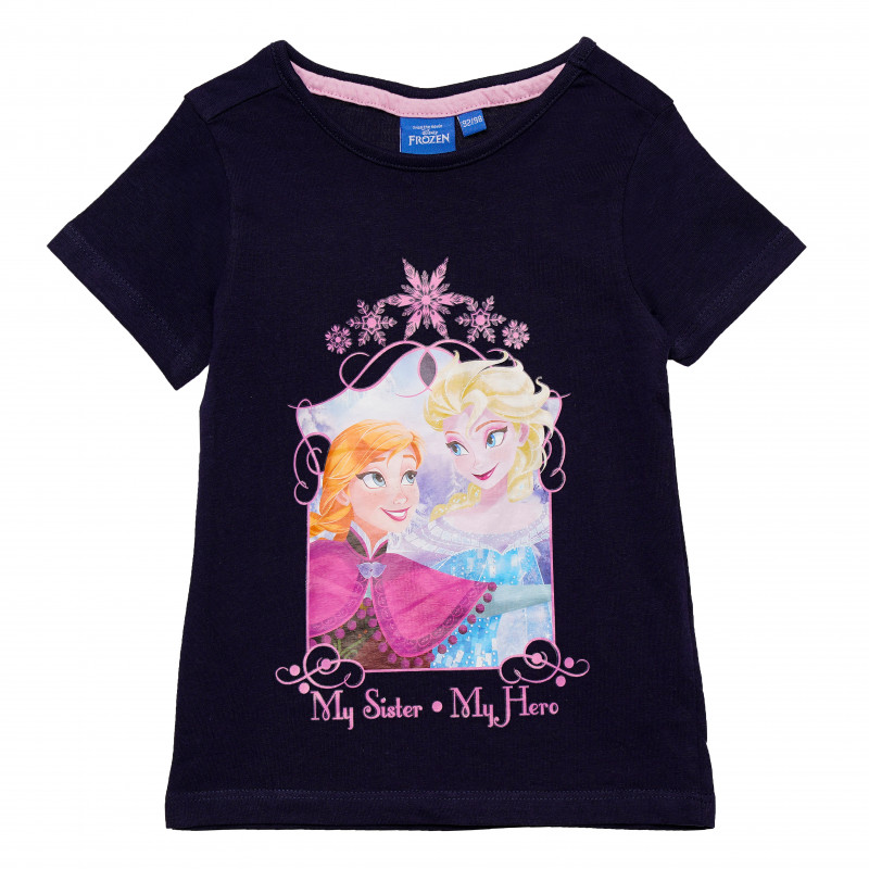 Σετ βαμβακιού από δύο μπλουζάκια για κορίτσι, πολύχρωμα  185425