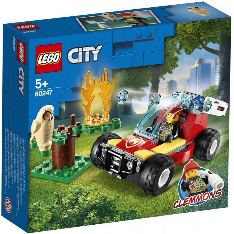 Lego - Δασική Πυρκαγιά, 84 μέρη  200593