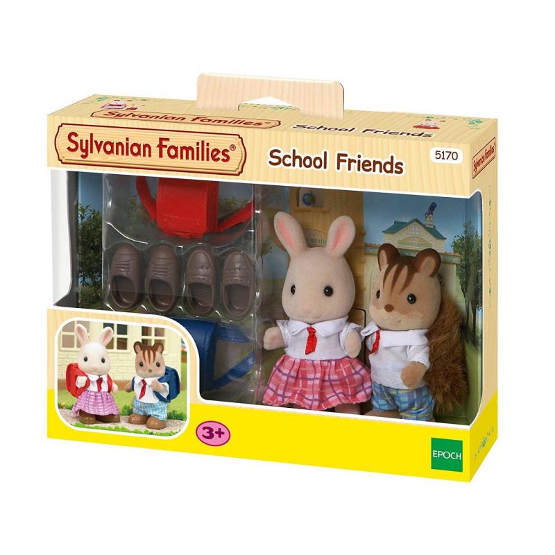 Σετ φιγούρες Sylvanian Families - Φίλοι από το σχολείο, 6 μέρη  201050