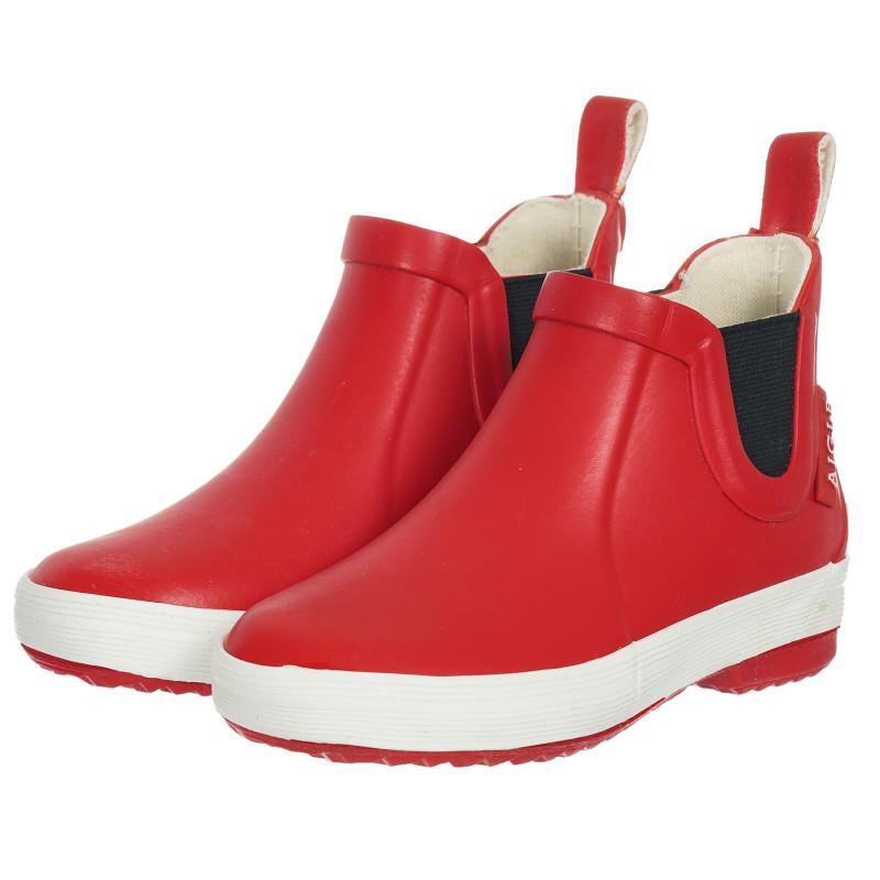 Κόκκινες μπότες από καουτσούκ  202097