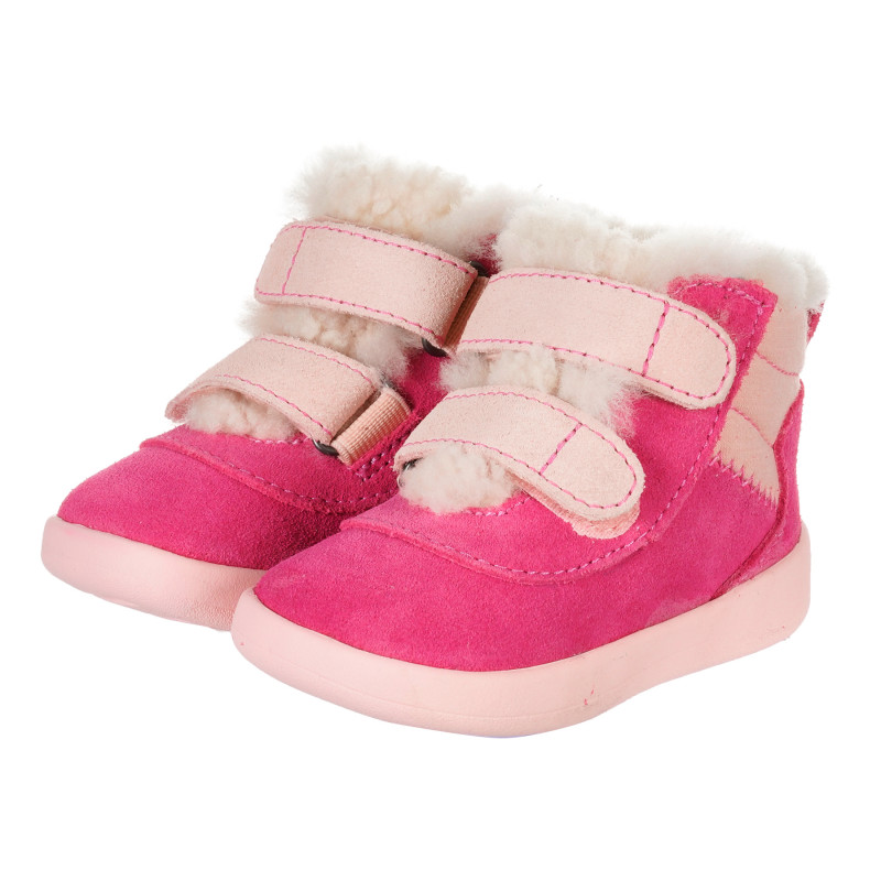 Μπότες μωρού, ροζ  202858
