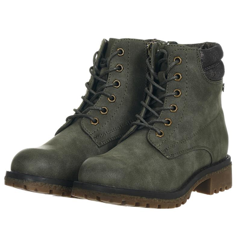 Σουέτ μπότες, πράσινες  202888