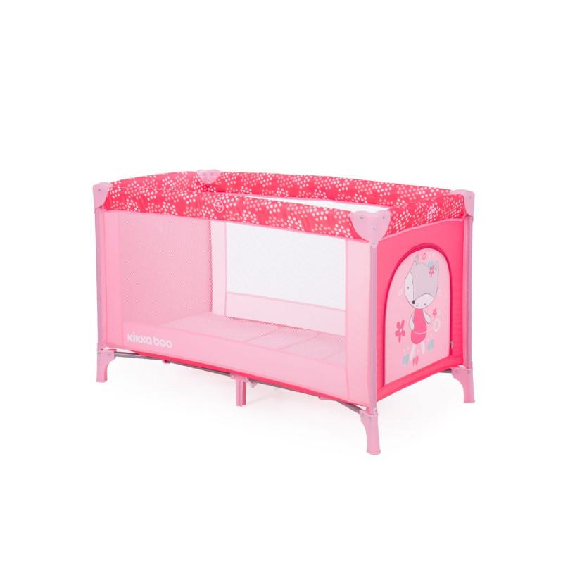 Παρκοκρέβατο Pajama Party ενός επιπέδου, Pink Fox  204032