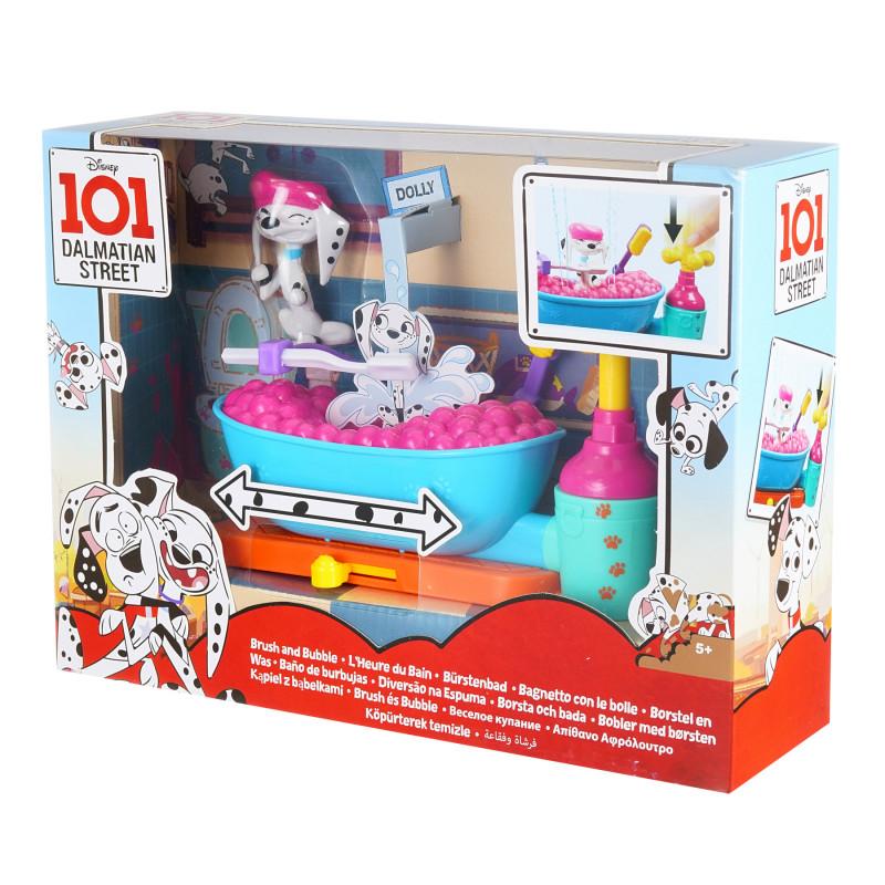 101 σετ παιχνιδιών Dalmatians + φιγούρες - μπάνιο  204720