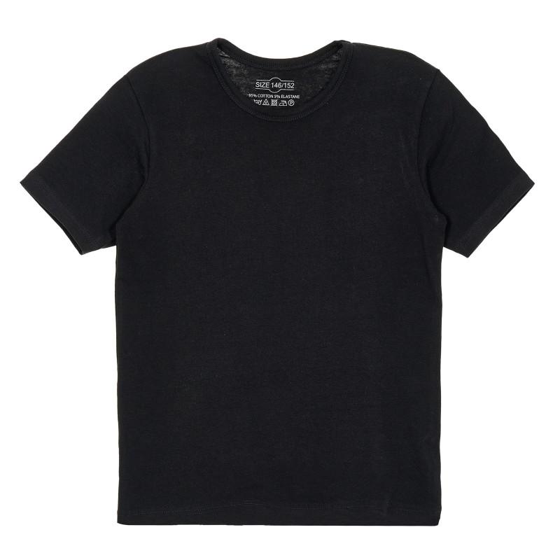 Βαμβακερό μπλουζάκι για κορίτσια, σε γκρι χρώμα  205205