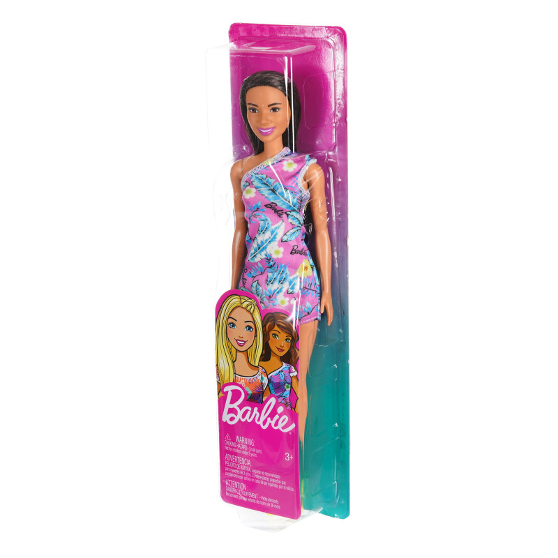 Κούκλα Barbie με φόρεμα λουλουδιών №2  206584