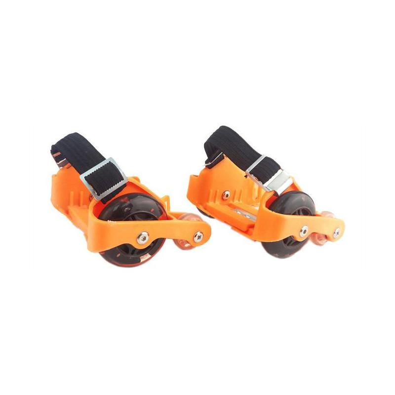 Πορτοκαλί πατίνια με φώτα LED για παπούτσια  206881