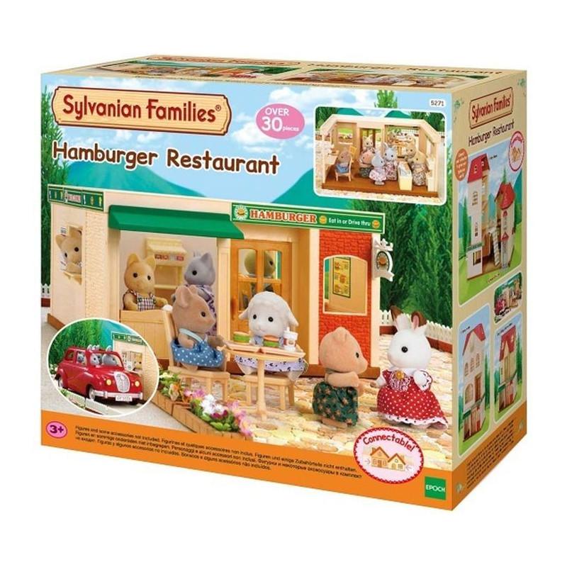 Σετ Sylvanian Families - Φαστ φουντ, Πάνω από 30 τεμάχια  206972