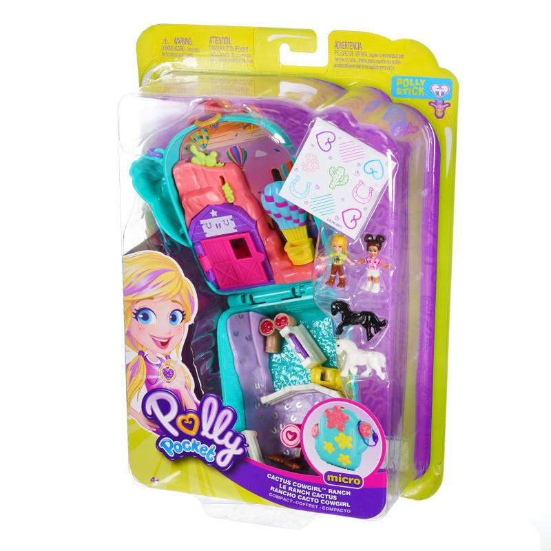 Σετ παιχνιδιών - Ο κόσμος της Polly με μίνι κούκλες Νο 1  207008