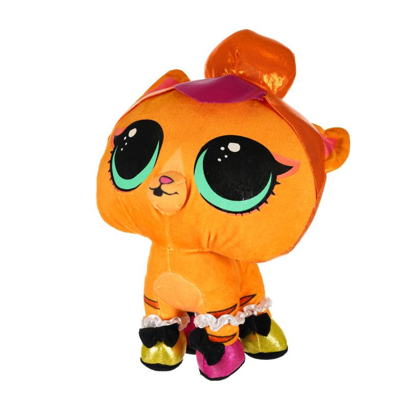 L.O.L surprise κατοικίδια ζώα - πορτοκαλί γατάκι 24 εκατοστά  207428