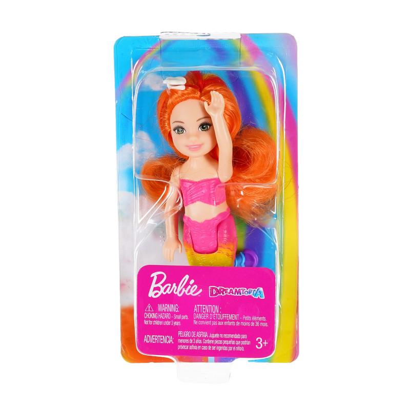 Γοργόνα Barbie Dreamtopia με πορτοκαλί μαλλιά  207473