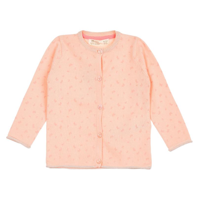 Ζακέτα με πεταλούδα, ροζ  208396