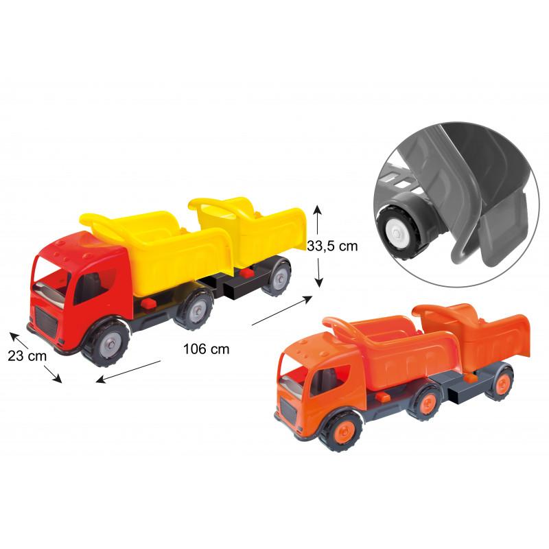 Φορτηγό με δύο ρυμουλκούμενα, BIG Auto  2289