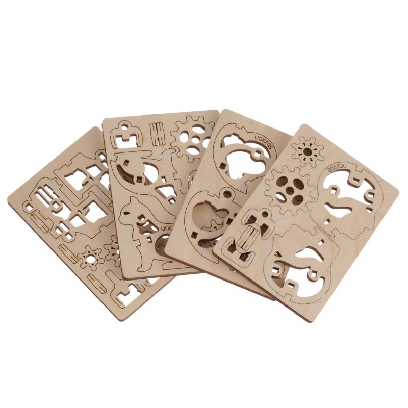 3D Mechanical Fidget Puzzle - Σκάφη  234343