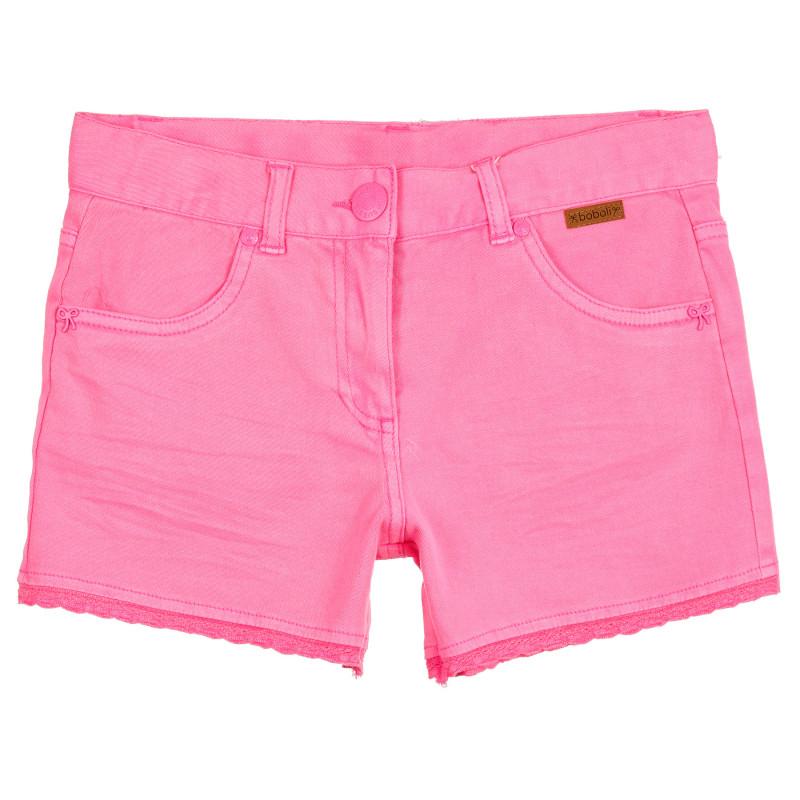 Σορτς τζιν κοριτσιού Boboli, ροζ  251079