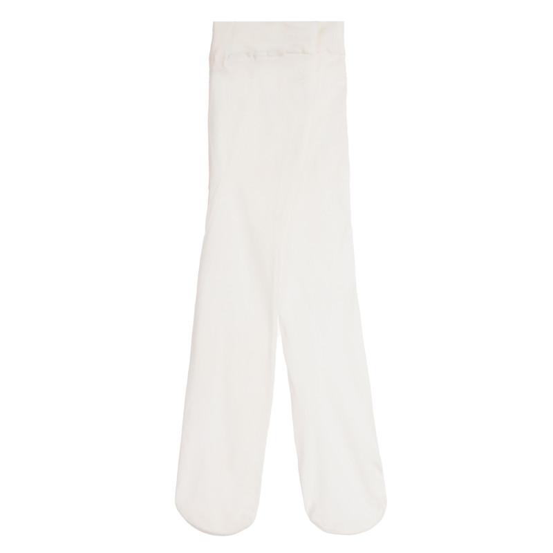 Λευκό καλσόν για κορίτσια  256799