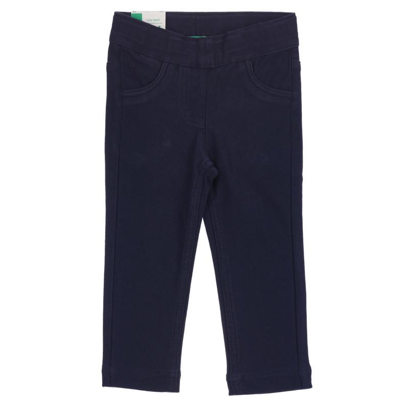 Παιδικό παντελόνι, μπλε ναυτικό  260780