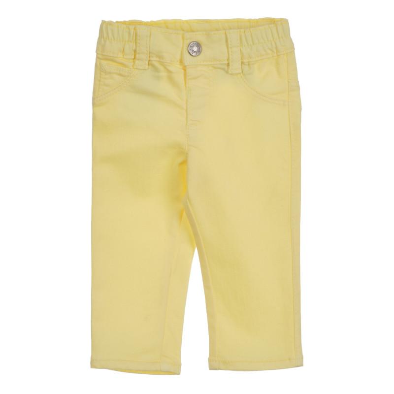Παιδικό παντελόνι, κίτρινο  260847