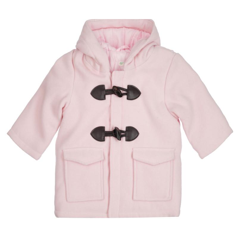 Παιδικό παλτό, ροζ  260914